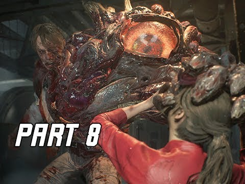 RESIDENT EVIL 2 REMAKE Walkthrough Part 8 - Anti-Virus (Let's Play RE2 Remake)