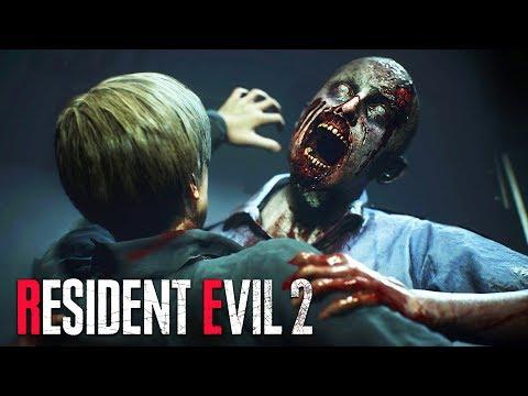 ZOMBIE APOCALYPSE!! (Resident Evil 2 Remake)