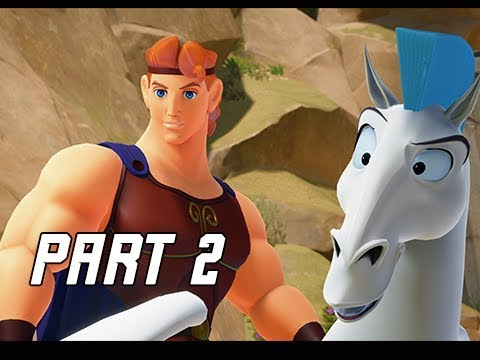 KINGDOM HEARTS 3 Walkthrough Gameplay Part 2 - Hercules & Olympus (KH3 Let's Play)