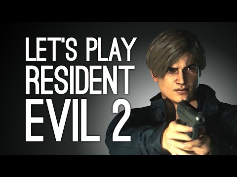Let's Play Resident Evil 2 Remake: BABY LEON'S FIRST DAY! Episode 1