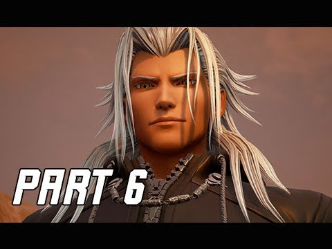 KINGDOM HEARTS 3 Walkthrough Gameplay Part 6 - Xemnas & Ansem (KH3 Let's Play)