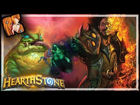 Insane Kragwa Combo Wants A Rematch?! - Rastakhan's Rumble Hearthstone