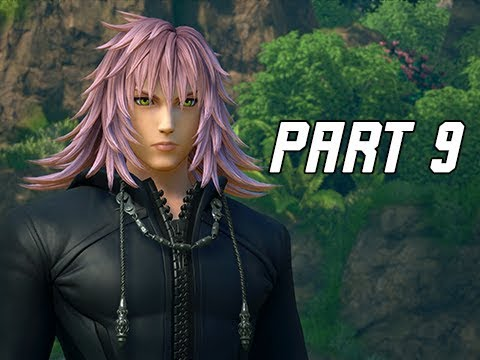 KINGDOM HEARTS 3 Walkthrough Part 9 - Marluxia (KH3 Let's Play)