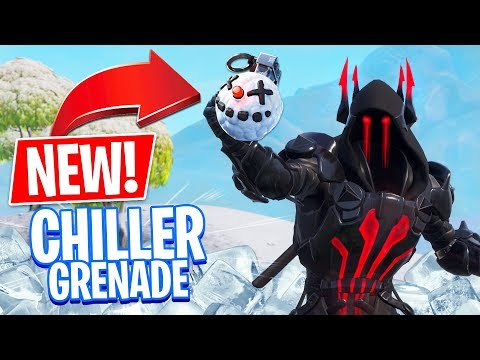 *NEW* CHILLER GRENADE!! *Pro Fortnite Player* // 1900 Wins // Fortnite Battle Royale)