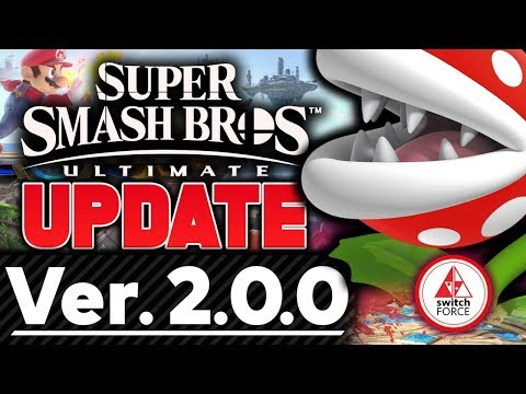 HUGE Smash Bros Ultimate Version 2.0 Update Is Here! FULL DETAILS and PATCH NOTES!