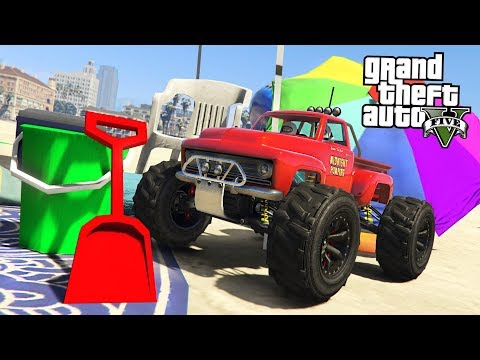 GTA 5 RC Bandito *MINI MONSTER TRUCK* Spending Spree! (GTA 5 Online DLC Update)