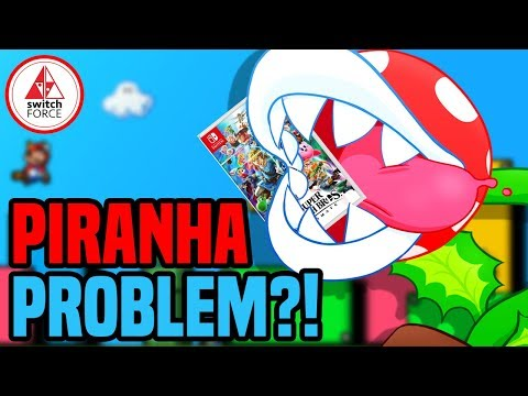 Piranha Plant Is Corrupting Game Save Data in Smash Bros Ultimate...Or Is He?l
