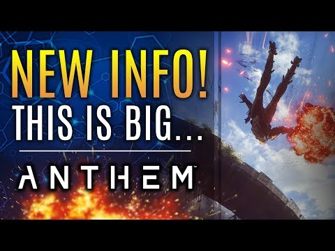 Anthem - NEW INFO Blowout! What To Expect at Max Rank & Obtain Legendary Weapons!