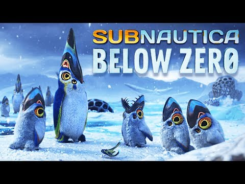 Frozen Underwater Survival!! (Subnautica Below Zero)