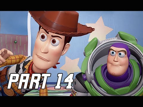 KINGDOM HEARTS 3 Walkthrough Part 14 - Toy Box & Toy Story (KH3 Let's Play)