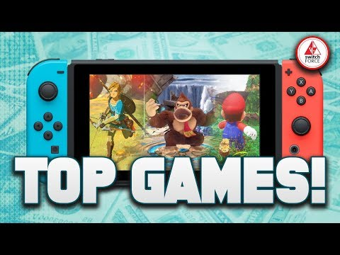 The TOP SWITCH GAMES Announced by Nintendo Switch Sales Figures, Smash Ultimate 12 Mil COPIES!