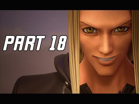 KINGDOM HEARTS 3 Walkthrough Part 18 - Golden Herc (KH3 Let's Play)
