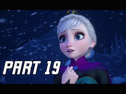 KINGDOM HEARTS 3 Walkthrough Part 19 - Frozen & Arendelle (KH3 Let's Play)