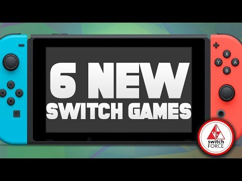 6 NEW Switch Games JUST ANNOUNCED!! (2019 Nintendo Switch Games)