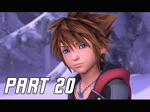 KINGDOM HEARTS 3 Walkthrough Part 20 - Labyrinth of Ice (KH3 Let's Play)