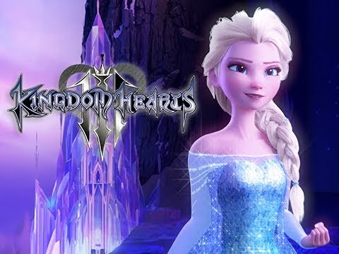 LET IT GO Sequence - Frozen Arendelle Kingdom Hearts 3 Reprisal (KH3 Gameplay)