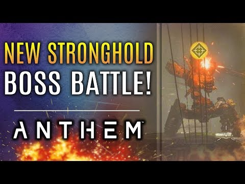 Anthem - All New Boss Stronghold Gameplay! MAX RANK Grandmaster 1! Masterworks Weapons!