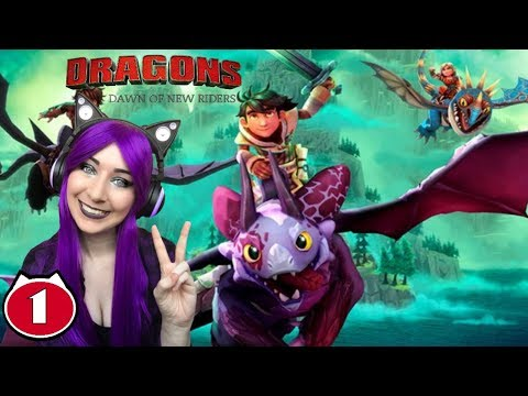 I LOVE HOW TO TRAIN YOUR DRAGON! - Dreamworks Dragons Dawn Of New Riders Gameplay Walkthrough Part 1
