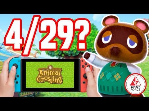 Animal Crossing Switch IS NOT Coming April 29th