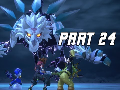 KINGDOM HEARTS 3 Walkthrough Part 24 - Arendelle Boss (KH3 Let's Play)