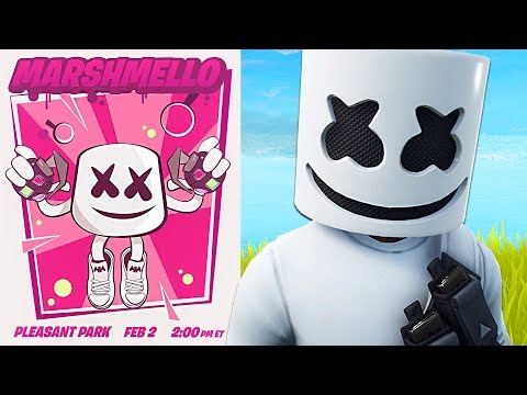 Fortnite Marshmello Event LIVE Concert! (Fortnite Battle Royale)