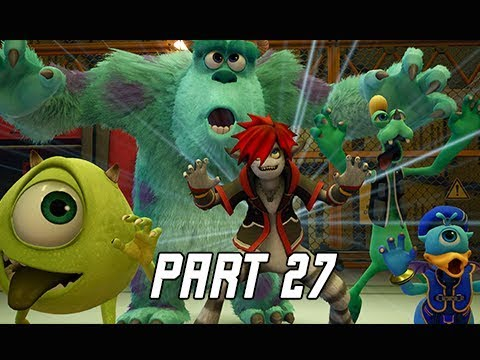 KINGDOM HEARTS 3 Walkthrough Part 27 - Laugh Power (KH3 Let's Play)