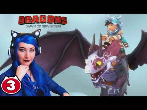 FLYING AND VALKA'S MOUNTAIN! - Dreamworks Dragons Dawn Of New Riders Gameplay Walkthrough Part 3