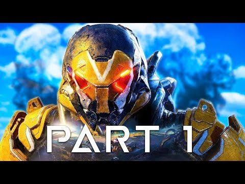 Anthem Gameplay Walkthrough Part 1 - Interceptor, Storm, Ranger & Colossus!! (Anthem Gameplay)