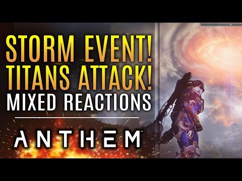 Anthem - Big Storm Event Receives Very Mixed Reactions. Here's What Happened...