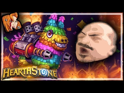 Popped Piñata And Never Lucky Dropped Out - Rastakhan's Rumble Hearthstone