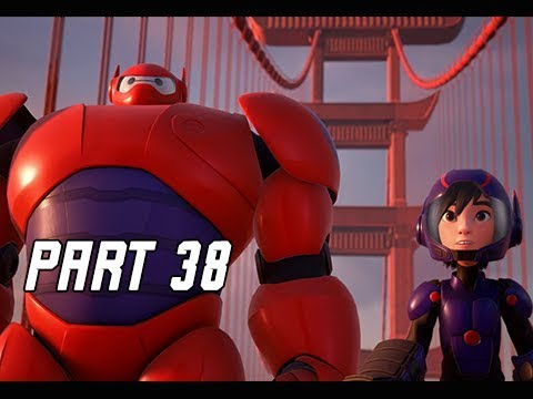 KINGDOM HEARTS 3 Walkthrough Part 38 - Big Hero 6 & San Fransokyo (KH3 Let's Play)