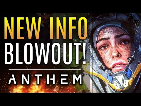 Anthem - NEW INFO BLOWOUT! Bioware Replies To New Concerns! New Faction Details! New Gameplay!