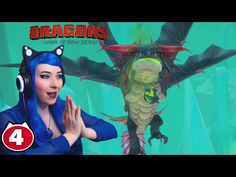 VALKA'S MOUNTAIN RUINS & STORMCUTTER BOSS! - Dreamworks Dragons Dawn Of New Riders Gameplay Part 4