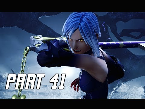 KINGDOM HEARTS 3 Walkthrough Part 41 - Return of AQUA (KH3 Let's Play)