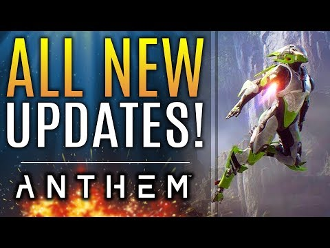 Anthem - NEW UPDATES: Changes Are Coming! New Strongholds! Bioware Opens Up About DLC Plans!