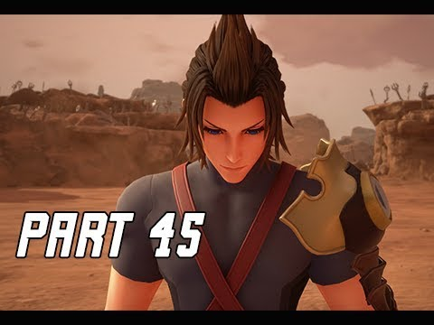 KINGDOM HEARTS 3 Walkthrough Part 45 - TERRA RETURNS (KH3 Let's Play)