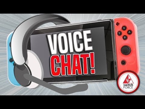 Nintendo Switch GETS Voice Chat for Current and New Switch Games thanks to Vivox SDK Switch!