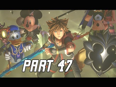 KINGDOM HEARTS 3 Walkthrough Part 47 - Backup (KH3 Let's Play)