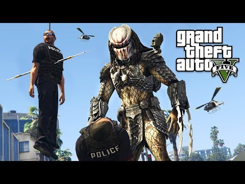 ULTIMATE PREDATOR MOD!! (GTA 5 Mods)
