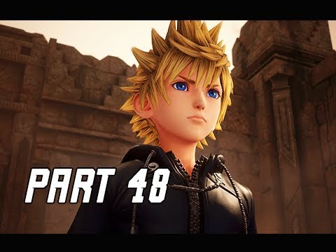 KINGDOM HEARTS 3 Walkthrough Part 48 - ROXAS (KH3 Let's Play)