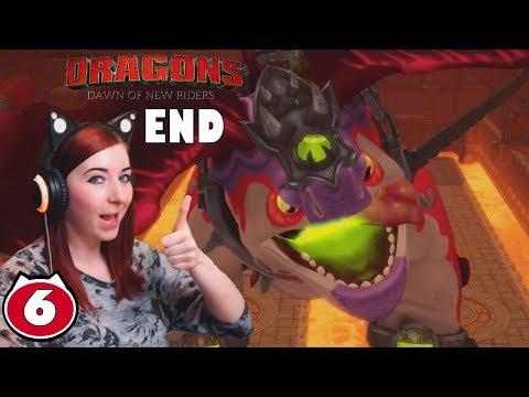 CRIMSON GOREGUTTER AND EIR FINAL BOSS - Dreamworks Dragons Dawn Of New Riders ENDING Gameplay Part 6