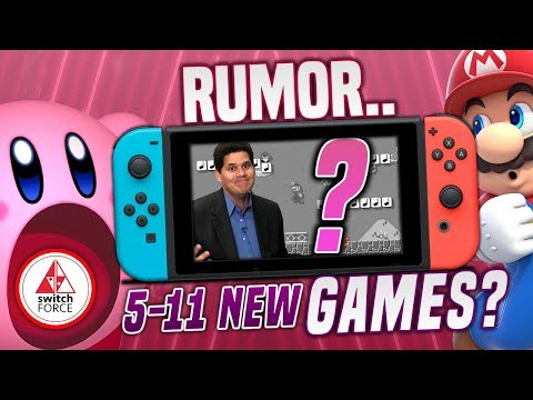NO WAY.. Nintendo Has 5 to 11 Unannounced NEW Switch Games PLANNED for 2019?! NEED NINTENDO DIRECT!
