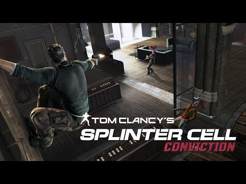 Splinter Cell Conviction - Kobin Mansion (Realistic Difficulty, No Mark and Execute)