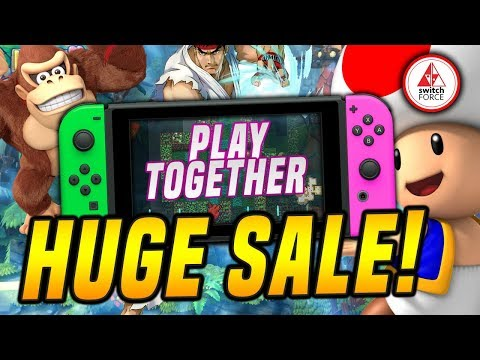 HUGE Nintendo Switch eShop Sale Feb 2019! Play Together Sale.. But UK/Europe Only!?