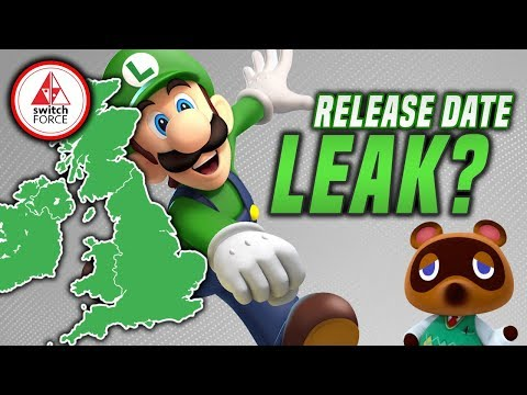 MAJOR New Switch Games HAVE Release Date LEAKED Online by UK Retailer!? (RUMOR)