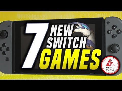 7 PRETTY EPIC NEW Switch Games JUST ANNOUNCED!! (2019 Nintendo Switch Games)