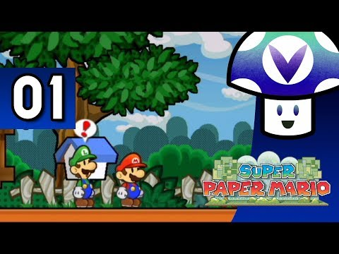 [Vinesauce] Vinny - Super Paper Mario (part 1)