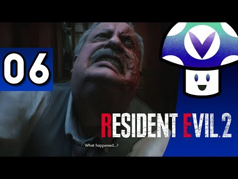 [Vinesauce] Vinny - Resident Evil 2 Remake (part 6)