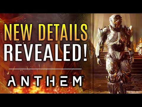 Anthem - New Updates Revealed!  New Footage! Anthem's 10+ Year Future! Locking Away Difficulties!