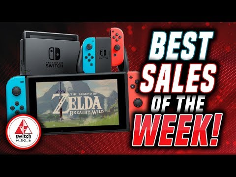 The BEST Switch eShop Sales and Nintendo Switch Deals of the WEEK! (FEB 8th, 2019)